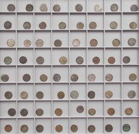Lettland: Livland / Riga: Lot 64 X Schilling / Solidus Münzen, 17. Jhd., Nicht Näher Bestimmt. - Lettonie