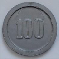 "Niederlande: Plastic Money ""Ministerie Van Oorlog"" 1951. 100 Cents (1 Gulden). Die Tokens / Jetons W - [ 2] 1795-1814: Franz. Herrschaft"