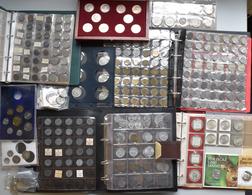 Österreich: Eine Sammlung An Diversen Münzen Aus Österreich, Kleinmünzen Nach Jahrgängen Bis 100 ATS - Oesterreich