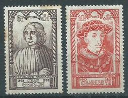 Timbre France Neuf * Yvt N° 769-770 - France
