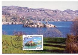 ORTA SAN GIULIO   1994 MAXIMUM POST CARD (GENN200008) - Geografia