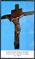SANTINO - Crocifisso Miracoloso - Santino Con Preghiera. - Images Religieuses