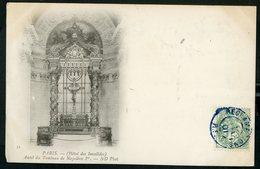 """1901 N°111 C-à-d Bleu De Paris """"RECLAMATIONS R.F. ././01"""" Sur CP De L'Autel Du Tombeau De Napoléon 1er Aux Invalides - Postmark Collection (Covers)"""