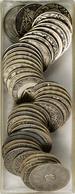 Medaillen: Eine Sammlung Von 43 Kalendermedaillen 1933-1974 (1943 Doppelt) Vom Münzamt Wien (Münze W - Entriegelungschips Und Medaillen