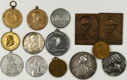 Medaillen: Lot 14 Medaillen / Plaketten Um 1900. - Entriegelungschips Und Medaillen