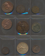 Medaillen: Nettes Lot 21 Stück, überwiegend Unedle Metalle, Nicht Näher Bestimmt, überwiegend Um 190 - Entriegelungschips Und Medaillen