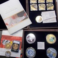 Medaillen Alle Welt: Sehr Umfangreiche Medaillen Und Probensammlung, überwiegend Aus Sehr Teurer ABO - Entriegelungschips Und Medaillen