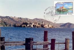 ORTA SAN GIULIO   1994 MAXIMUM POST CARD (GENN200009) - Geografia