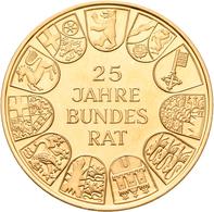 Medaillen Deutschland: Goldmedaillen-Lot 5 Stück; Robert Bosch, Gold 900/1000, 25 Mm, 14 G / Urach, - Deutschland