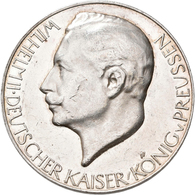Medaillen Deutschland: 1. Weltkrieg 1914-1918: Lot 5 Silbermedaillen; 1914 Viceadmiral Graf Von Spee - Deutschland