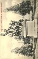 CPA - Belgique - Cachet à Pont - Liège Départ 24-06-1908 - Liège - Les Deux Laocoons - Marcophilie