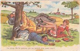 RAP : Pin-up Accidentée : Le Coup De La Panne, ça Ne Prend Pas Avec Moi - Autres Illustrateurs