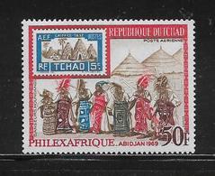 TCHAD  ( AFTC - 169 )  1969   N° YVERT ET TELLIER POSTE AERIENNE N° 52  N* - Tsjaad (1960-...)