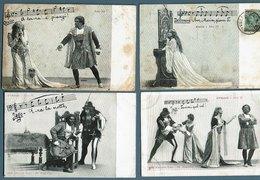 Otello  Opéra De G. Verdi  Lot De 8 Cpa - Opera
