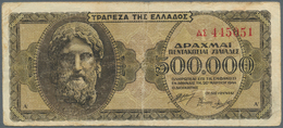 Greece / Griechenland: 1939/1940 (ca.), Ex Pick 107-315, Quantity Lot With 1472 Banknotes In Good To - Griechenland