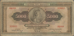 Greece / Griechenland: Nice Collection With Around 300 Banknotes From 1932 - 1984, Containing For Ex - Griechenland