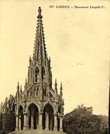 CPA - Belgique - Cachet à Pont - Namur Départ Xx-xx-1908 - Laeken - Monument Léopold 1er - Marcophilie