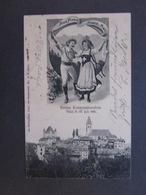 Schweiz Karte Berner Kantonalturnfest Thun  8.-10.Juli 1905 - Switzerland