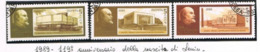 URSS - SG 5990.5992 - 1989 LENIN ANNIVERSARY (COMPLET SET OF 3)   - USED° - RIF. CP - Usati
