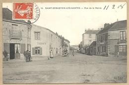 44  SAINT  SEBASTIEN LES NANTES   RUE DE   LA    MAIRIE - Saint-Sébastien-sur-Loire