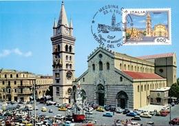 MESSINA DUOMO    1994 MAXIMUM POST CARD (GENN200016) - Geografia