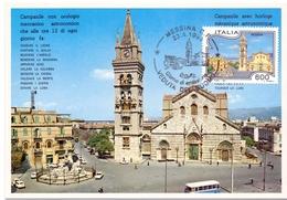 MESSINA DUOMO    1994 MAXIMUM POST CARD (GENN200017) - Geografia