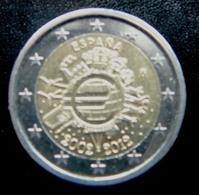 Spain - Espagne - Spanje   2 EURO 2012    Speciale Uitgave - Commemorative - España