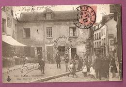 Cpa Paris Montmartre Rue Norvins - éditeur CLC N°563 - Paris (18)