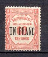 TAXES Neuf Numéro 63  NEUF**SANS CHARNIIERE - France