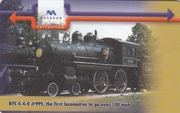 BULGARIA - Train NYC 4-4-0 #999, The First Locomotive To Go Over 100mph, 1962 , 01/01, Tirage 50,000, 300 U, Used - Bulgarien