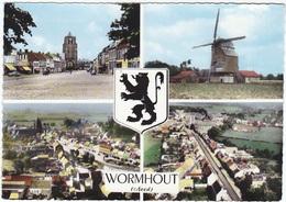 CPSM Grand Format De WORMHOUT (59) – Multivues. Editions Combier, Mâcon. - Wormhout