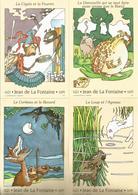1 Lot De 6 CP Les Fables De La Fontaine 1995 Y&T N° 2958 à 2963 Neufs ( Sous Blister D'origne) - Ganzsachen
