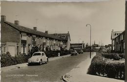 Leidschendam (ZH) Trompstraat (NW Kever - Beetle, Auto). Ca 1962 - Leidschendam