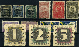 Brasil (Aéreos) Nº 9, 14/15, 21, 23/6, 31/31b, 37/9. Año 1927/43. - Luchtpost