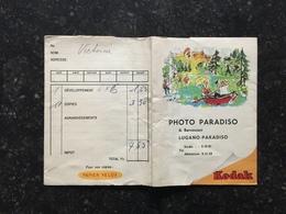20A - Pochette Photos Kodak Paradisio Lugano - Photographie