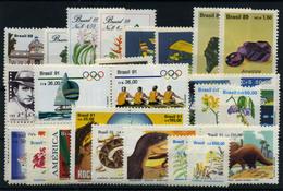 Brasil Nº 1914/17, 1921/8, 1985/6, 2001/2, 1969/72, 2009/19, 2019/24. Año 1989/91. - Brazilië