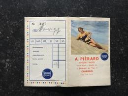 20A - Pochette Publicitaire Photos Gevaert Avec Pin Up A Piérard Charleroi - Fotografie En Filmapparatuur