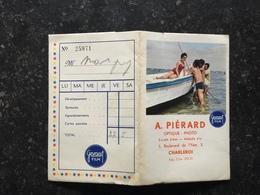 20A - Pochette Publicitaire Photos Gevaert Avec Pin Up Sur Bateau A Piérard Charleroi - Fotografie En Filmapparatuur