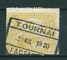 TR 124 Gestempeld TOURNAI FACTAGE - Cote 22,00 - Bahnwesen