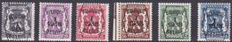 Série De 6 Timbres Préoblitérés - Série 1 - 6v. Neufs - PRE 333/338 - 1/01/1938 - Côté 220.00€ - Typo Precancels 1936-51 (Small Seal Of The State)