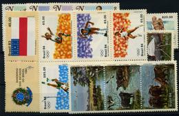 Brasil Nº 1628/31, 1633/37, 1639/40, 1645, 1648/53, 1662/8A, 1624/26A. Año 1983/4 - Brazilië