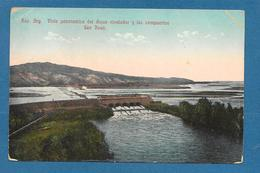 ARGENTINA VISTA PANORAMICA DEL DIQUE NIVETADOR Y LAS COMPUERTAS SAN JUAN 1913 - Argentinien