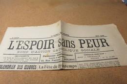Journal MAI  26 L'Espoir Sans Peur Journal Paroissial St Michel De Bolbec 76 SAINT ROMAIN DE COLBOSC PATRONNAGE - Journaux - Quotidiens