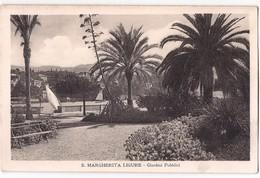 S.Margherita Ligure - Giardini Pubblici /P520/ - Genova