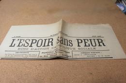 Journal JUIN 26 L'Espoir Sans Peur Journal Paroissial St Michel De Bolbec 76 FOIRE CHANSON NORMANDE E MONTIER - Journaux - Quotidiens