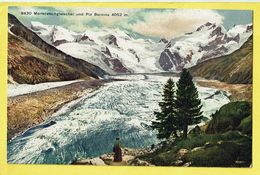 * Morteratschgletscher - Grisons (Switserland - Suisse - Schweiz) * (A.G. Kilchberg, Nr 8430) Piz Bernina, Unique, TOP - GR Grisons