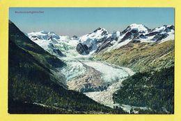 * Morteratschgletscher - Grisons (Switserland - Suisse - Schweiz) * (Flury Pontresina 36) Couleur, Montagne, Neige, Snow - GR Grisons