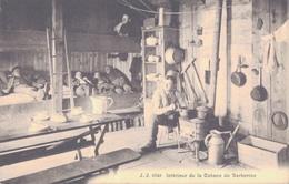 VALAIS / INTERIEUR DE LA CABANE DE BARBERINE - VS Wallis