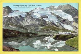 * Bernina Hospiz - Grisons (Switserland - Suisse - Schweiz) * (Engadin Press, Nr 56) Lago Crocetta Cambrena Gletscher - GR Grisons