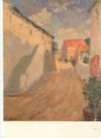 Art - Peinture - Louis Désiré-Lucas - La Rue Du Port à Sauzon - Voir Scans Recto-Verso - Pintura & Cuadros